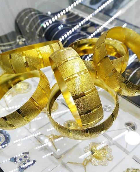 22 Ayar Altın Kaplama Bilezik 2cm, İmitasyon Bilezik-13