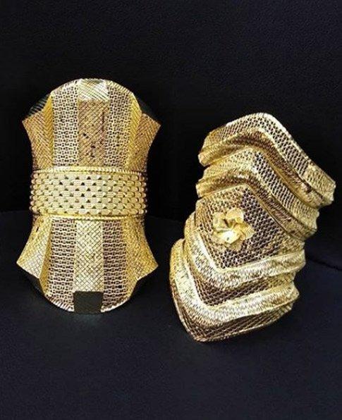Vizyon Kelepçe, 22 Ayar Altın Kaplama Vizyon Kelepçe Modelleri-07