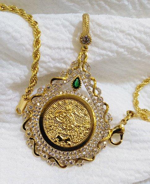 Osmanlı Tuğralı Bayan Kolye, Tuğralı Kolye Modelleri-161